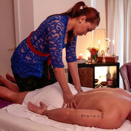 masaj shiatsu